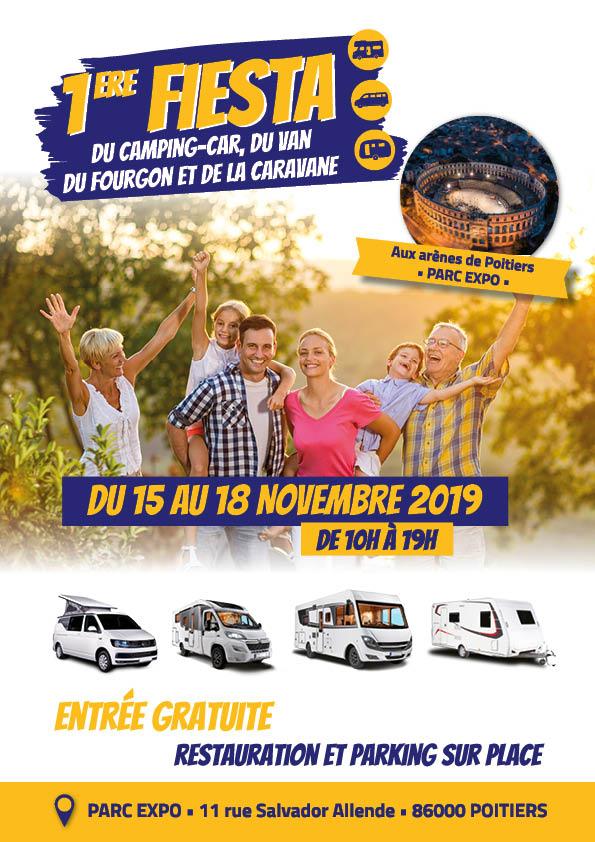 1ère Fiesta du camping-car, du van, du fourgon et de la caravane