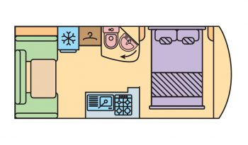 Elégance 440 SA (Rear living room)