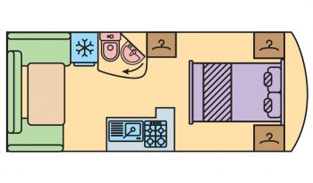 Elégance 490 SA (Rear living room)