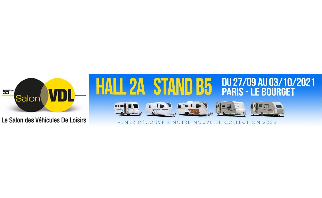 Salon des véhicules de loisirs 2021 – PARIS – LE BOURGET